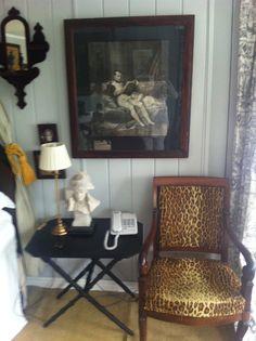 A special corner.loved the leopard print. Irish Images, Corner, Home Decor, Interior Design, Home Interior Design, Home Decoration, Decoration Home, Interior Decorating