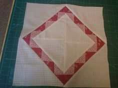 Sixth block in the new quilt