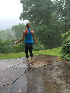 Rain or shine! No excuses. #fitness #motivation #inspiration #health #fitspo #cardio #toscareno