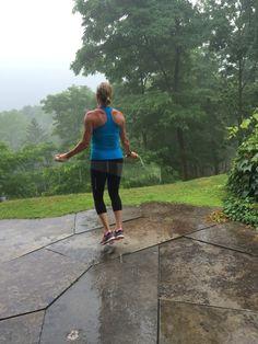 Rain or shine! No excuses. #fitness #motivation #inspiration #health #fitspo #cardio #toscareno