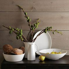 when we get our buffet table for the dining room, this is what i want on top of it... so chic.