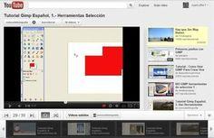 Videotutorial de GIMP en español