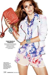 Ellie Ross by Francisco Garcia for Cosmopolitan November 2012