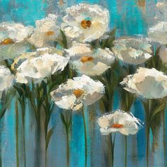 Masterpiece Art - Anemones by the Lake Crop, $51.00 (http://www.masterpieceart.com.au/anemones-by-the-lake-crop/)