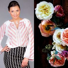 Find yourself in the Romanian traditional motifs. Ruffle Blouse, Colorful, Traditional, Unique, Nature, Flowers, Handmade, Beautiful, Tops