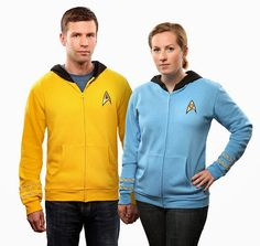 Beam Me Up Yes, I want to be beamed up with this Star Trek hoodie. A definite want!