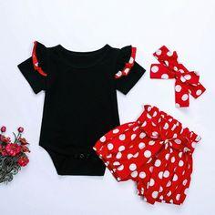 2 piece set Polk a Dots SASSY SINCE BIRTH Ruffles Birthday Gift One of A Kind Gerber Photos Black White
