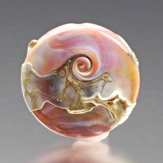 Decorating A Glass Bead - Artisan Whimsy