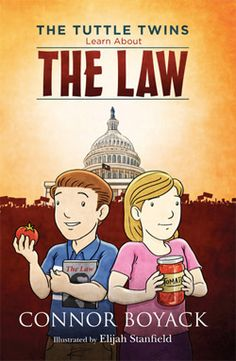 Book Blitz & Giveaway - Tuttle Twins Learn About The Law by Connor Boyack Law Books, Used Books, Book Club Books, Book Series, Pdf Book, Award Winning Books, Adolescents, Thing 1, Books For Teens