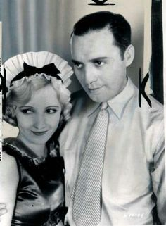 Bessie Love and Jack Benny in Chasing Rainbows, 1930 Hooray For Hollywood, Hollywood Icons, Golden Age Of Hollywood, Classic Hollywood, Old Hollywood, Hollywood Actresses, Silent Film Stars, Movie Stars, Bessie Love