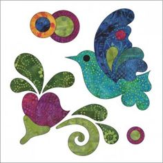 Zen Garden - Block #4 - Applique Applique Templates, Applique Quilt Patterns, Owl Templates, Felt Patterns, Dress Patterns, Hand Applique, Machine Applique, Embroidery Designs, Quilting Designs