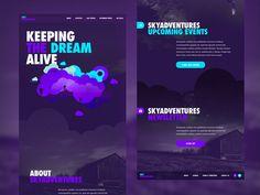 SkyAdventures Landing Page