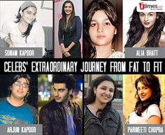 Hit the link to see extraordinary journey of our #bollywood stars from FAT to FIT