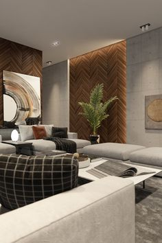 Wood Wall Living Room Design Idea Fresh French Fir Wooden Wall Panels In Interior Of Living Room Living Room Panelling, Wood Walls Living Room, Living Room Design Modern, Wooden Wall Panels, Luxury Living Room, Drawing Room Interior, Living Room Tiles, Brown Walls Living Room, Living Room Wall Designs