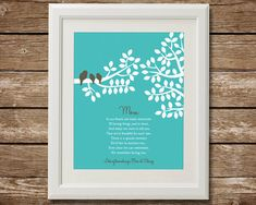 Mother's Day Gift Personalized Gift for Mom Mom by TangledTulip