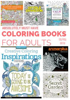 15 Intricate Adult Coloring Books We Adore - Coloring Books For Adults Craze - Easy Peasy and Fun