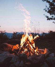 Nothing like a great campfire and he builds the best! Summer Times | #MichaelLouis - www.MichaelLouis.com