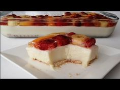 Cheesecake, Desserts, Food, Youtube, Tailgate Desserts, Deserts, Cheese Pies, Cheesecakes, Meals
