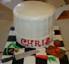 Send off to Culinary school cake.
