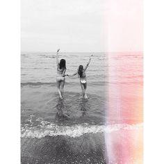 Just my sister and I taking random pics.