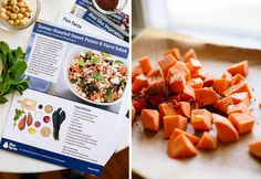 Blue Apron / food delivery subscription - great gift idea for new parents or new home owners or new job