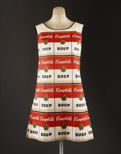 The Souper Dress is a screenprinted paper pop art dress that was made and sold by Campbell's Soup Company in the late 1960s.
