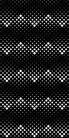 Black and White Pattern Design Pop Art Wallpaper, Apple Wallpaper, Pattern Art, Pattern Design, Isometric Shapes, Modern Wall Decals, Monochrome Pattern, Square Patterns, Shape Design