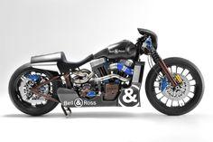 Bell & Ross Harley Davidson motorcycle