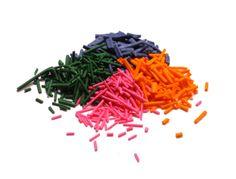 Homemade Rainbow Sprinkles  | G-Free Foodie #GlutenFree