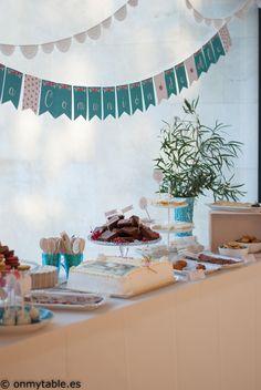 mesa dulce comunión fiesta eventos