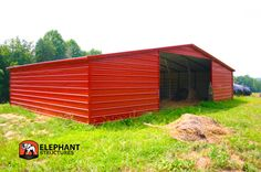 Barn integrity depends on your metal building's ability to avoid these 7 deadly sins. Make sure you get a barn that's sure to last! Steel Garage Kits, Utility Sheds, Metal Carports, Handyman Projects, Carport Designs, Metal Barn, Backyard Sheds, She Sheds, Horse Barns