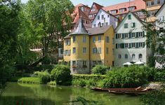 Hölderlin Tower, Tubingen, Germany, the poet was cared and died in the tower. I stayed in the building about 3 hours!!