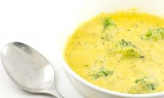Cream of broccoli and cheddar ... A must!