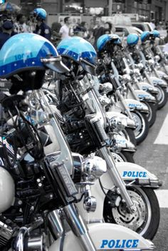 New York - Police Bikes