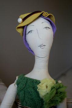 my handmade ragg doll