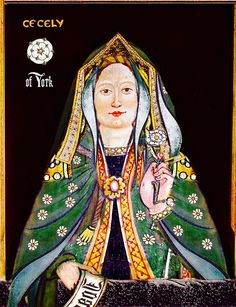 CECILY OF YORK, VISCOUNTESS WELLES:  (20 March 1469 – 24 August 1507) was an English Princess and the third, but eventual second surviving, daughter of Edward IV, King of England and his queen consort Elizabeth, née Lady Elizabeth Grey, daughter of Richard Woodville, 1st Earl Rivers and Jacquetta of Luxembourg.