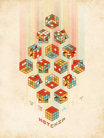 Amazing Hot Chip poster from DKNG. — Designspiration