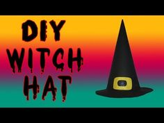 Witch costumes are always in style for Complement your costume with customizable hat. Watch this easy witch hat tutorial Witch Costumes, Hat Tutorial, Halloween Diy, Halloween Disfraces, Movie Posters, Barbie, Diy Projects, Watch, Easy