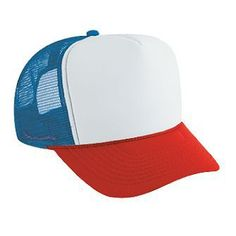 4c7553815bd OTTO Cap - Wholesale promotional blank hats and caps 39-169 Polyester Foam  Front…