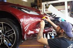Automotive Paint Protection Your vehicle is a large investment. Tint Lady offers Automotive Paint Protection Film installation to keep your vehicle looking like new for years to come, while maintaining its resale value. Our self-healing, scratch and crack resistant film will provide superior protectionagainst every day road hazards such as rocks,