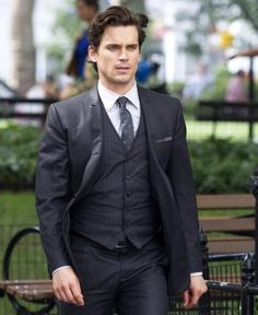 Rocks the 3-piece suit like no other
