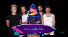 one direction 1d thumbs up thank you teen choice awards 2015 tca2015 have a nice night