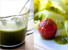 Lemon Basil Olive Oil Dressing