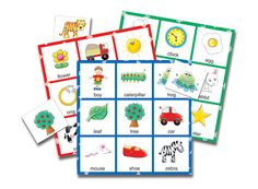 Match It! Bingo - Picture Word by The Learning Journey - $11.95