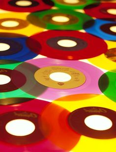 "45andsingle:    What a picture! All but one of these is the Capitol ""For Jukeboxes Only"" series of colored vinyl releases."