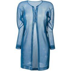 Comme Des Garçons Comme Des pleated cardigan (£350) ❤ liked on ...