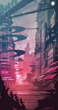 'Future City' by Ken Sarafin
