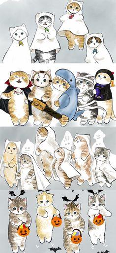 Kawaii Art, Kawaii Anime, I Love Cats, Cute Cats, Kitten Meowing, Cyberpunk Art, Cat People, Oui Oui, Winx Club