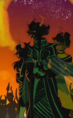 *sobs forever into infinity* I love the ancestors, poor sufferer....and disciple...and the Dolorosa (did I spell that right?) and uh sollux's ancestor... D,: