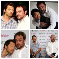 Mark Sheppard and Misha Collins, everyone.